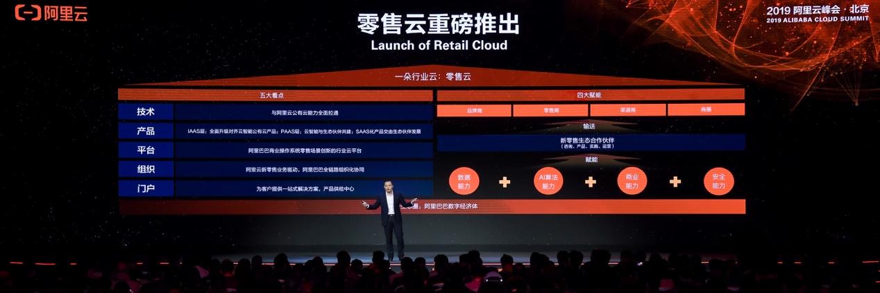 阿里云重磅推出零售云 共同服务零售行业数字化转型升级