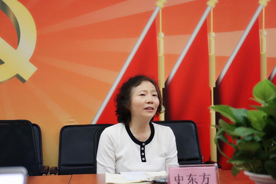 速途网络党支部开展纪念五四运动100周年研讨会