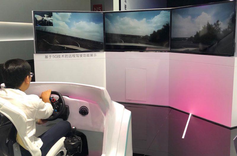 上汽集团参展CESA,5G远程遥控无人驾驶亮相|速途直击CES Asia