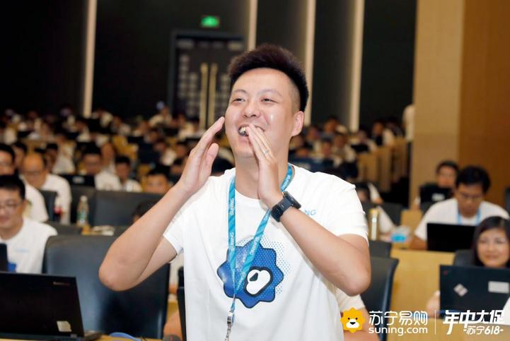 """《延禧攻略》尔晴到访苏宁618   化身""""程序员鼓励师""""提桶送盒饭"""