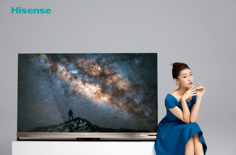 """7999元!海信发布全球首台叠屏电视,拒绝价格战,做更""""贵""""的电视"""""""