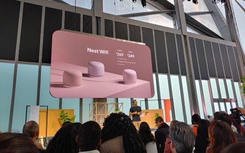 谷歌发布Nest Wifi路由器 速度更快覆盖面更广