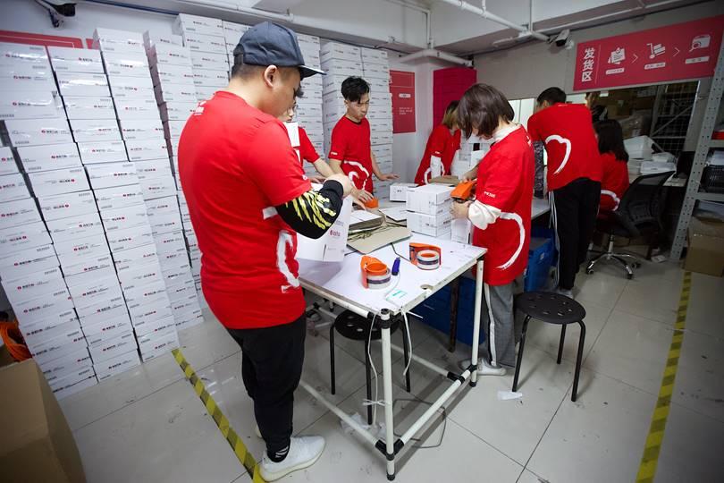 """5家银泰百货进入双11时间,数字化门店仓订单量预计达去年10倍"""""""
