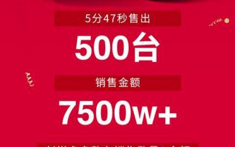 宝沃汽车双11战报:5分47秒卖出500台 订单额超7500万
