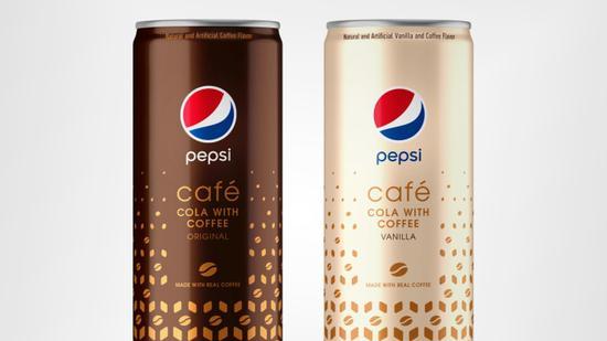 百事可乐将在美国推出限量版咖啡可乐Pepsi Cafe