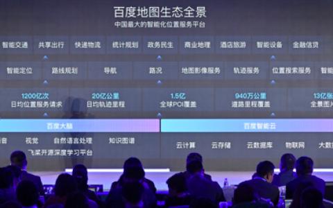 百度李莹:百度地图已成为中国最大的智能化位置服务平台