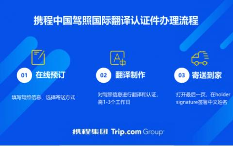 告别境外无证自驾 携程租车推国际翻译认证件覆盖主流自驾国家