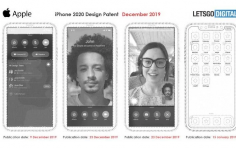 苹果新专利曝光:新iPhone或去除刘海