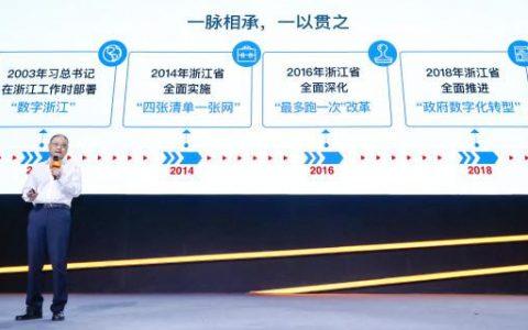 浙江政府数字化转型探索新路径——携手阿里巴巴,让群众没有难办的事
