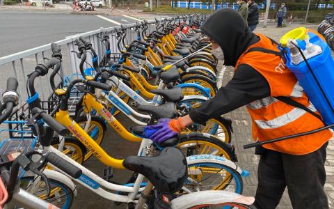 美团推动共享单车消毒规范立项 让骑行更安心