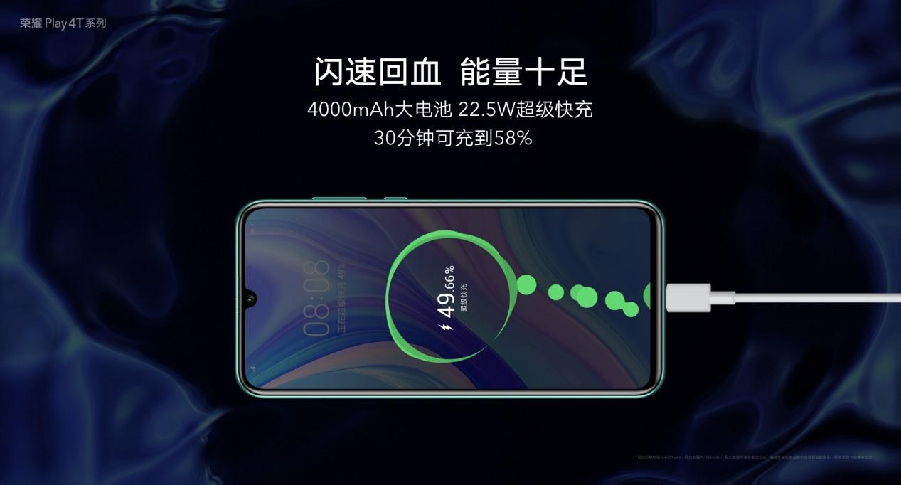 荣耀Play4T系列发布:麒麟810加持,售价1199元起