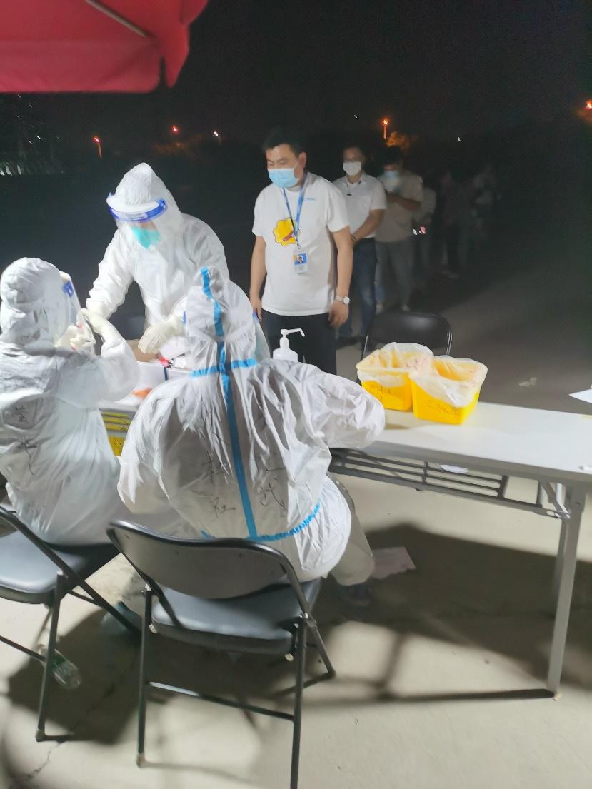 苏宁为北京所有一线员工提供免费核酸检测