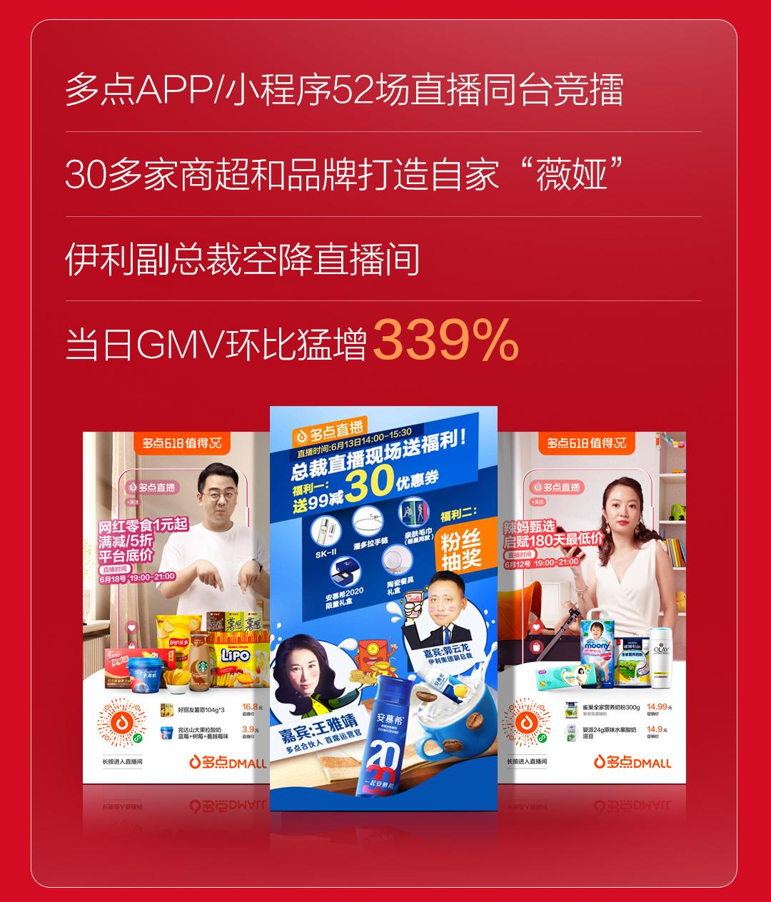 多点Dmall 618全渠道销售额达7.6亿,服务8500万用户