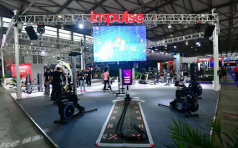 英派斯参加IWF 上海国际健身展 专业竞技体育器材广受好评