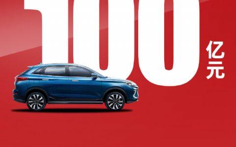 威马汽车宣布完成总额100亿元人民币D轮融资