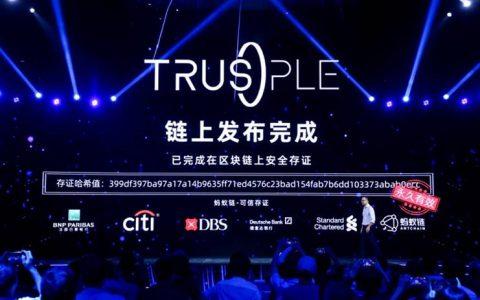 蚂蚁链发布Trusple平台  蒋国飞:全力驱动前沿技术成为科技产业