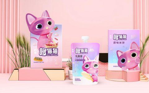 儿童食品新锐品牌「启旭哆猫猫」获SIG数百万美金天使轮投资