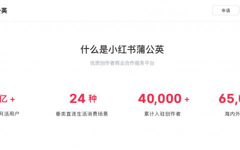 """小红书品牌合作平台升级为""""小红书蒲公英"""",三大功能模块助力品牌触达消费者"""