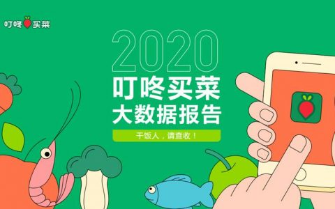 """叮咚买菜2020线上买菜大数据报告出炉:品质、节约成年度""""干饭""""关键词"""
