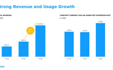 声网Agora2020全年营收1.34亿美元,同比增长107.3%