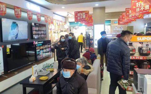 """苏宁推门店导购""""异地下单"""",春节假期预约量增长350%"""