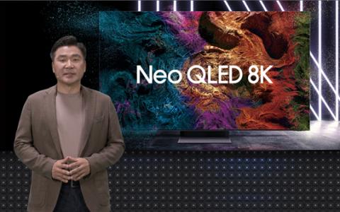 三星发布2021全系列电视新品 NEO QLED 8K全渠道预售开启
