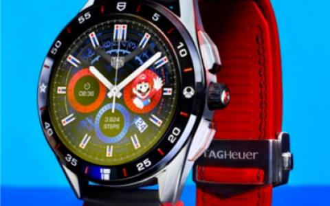 奢华腕表TAG HEUER泰格豪雅与任天堂跨界合作推出 超级马里奥主题限量款联名腕表