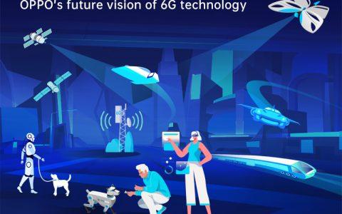 OPPO发布6G白皮书 展望人工智能与通信互融未来