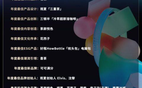小红书WILL未来品牌大赏在沪举办,元气森林、泡泡玛特等四品牌创始人首次聚首