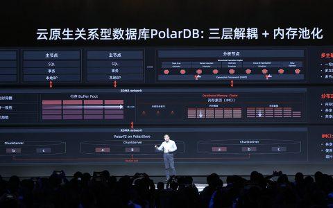 阿里云PolarDB数据库技术升级:新增内存池化、多主架构、HTAP实时分析功能