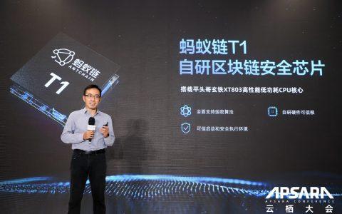 蚂蚁链发布自研区块链安全芯片 搭载平头哥玄铁CPU
